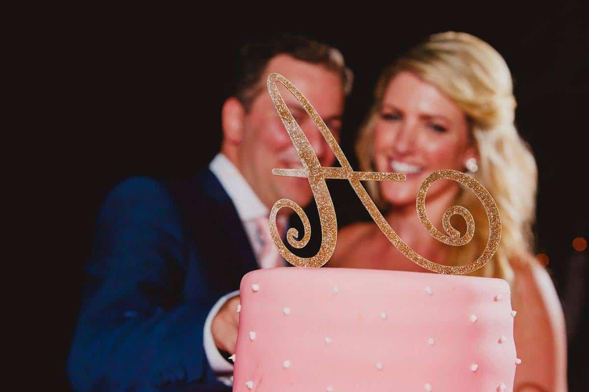 5.Mitheo Events  Luxury Wedding Blush Pink Wedding Cake - Luxury Wedding Gallery