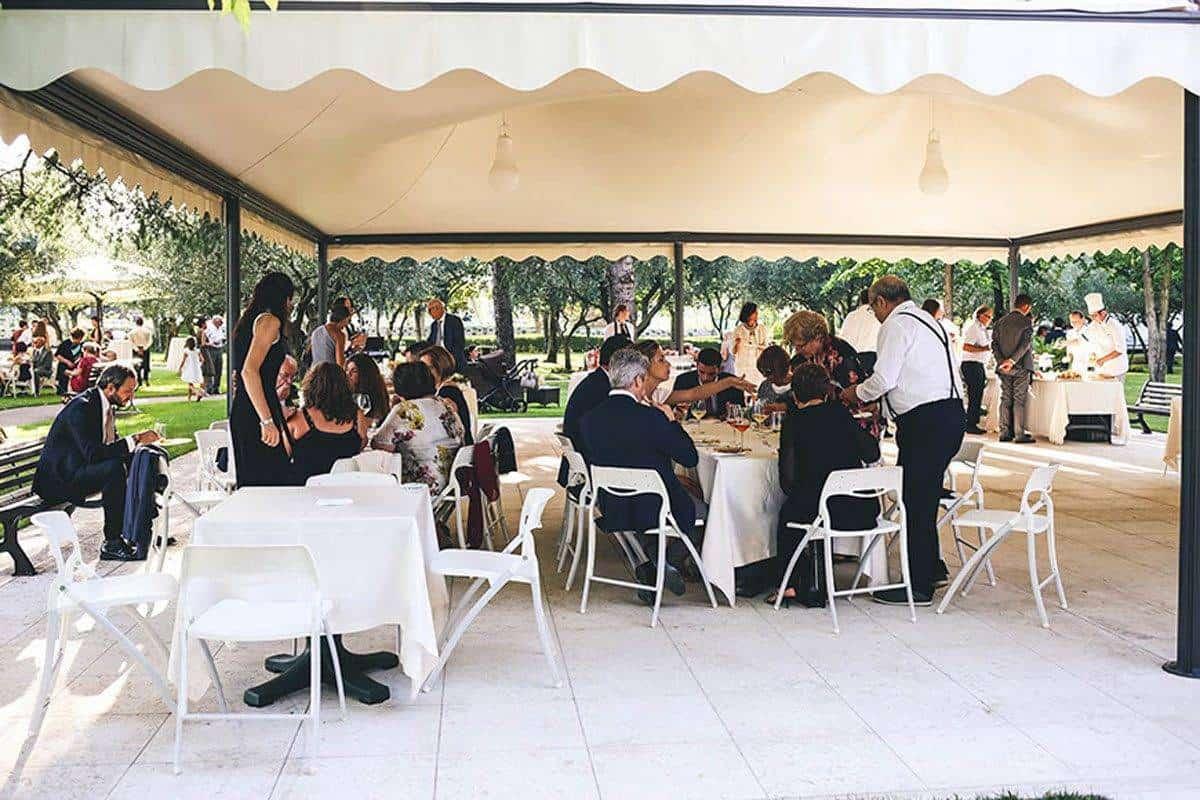 Aperitivo nel parco - Luxury Wedding Gallery
