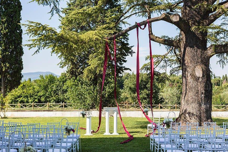 Ceremony Decoration 2 - Villa Tolomei Hotel - Gallery