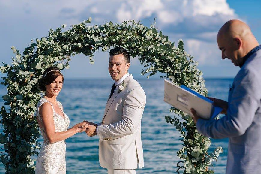 Ceremony by the beach 2 - Luxury Wedding Gallery