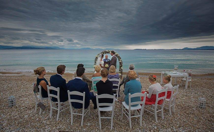 Ceremony by the beach - Luxury Wedding Gallery