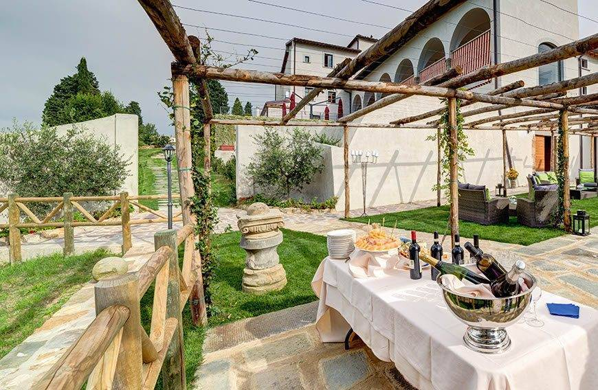 External Garden Oil Mill Event 2 - Villa Tolomei Hotel - Gallery