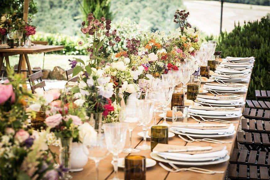 FLORALDESIGN WEDDINGTABLE TABLESETTING - Luxury Wedding Gallery