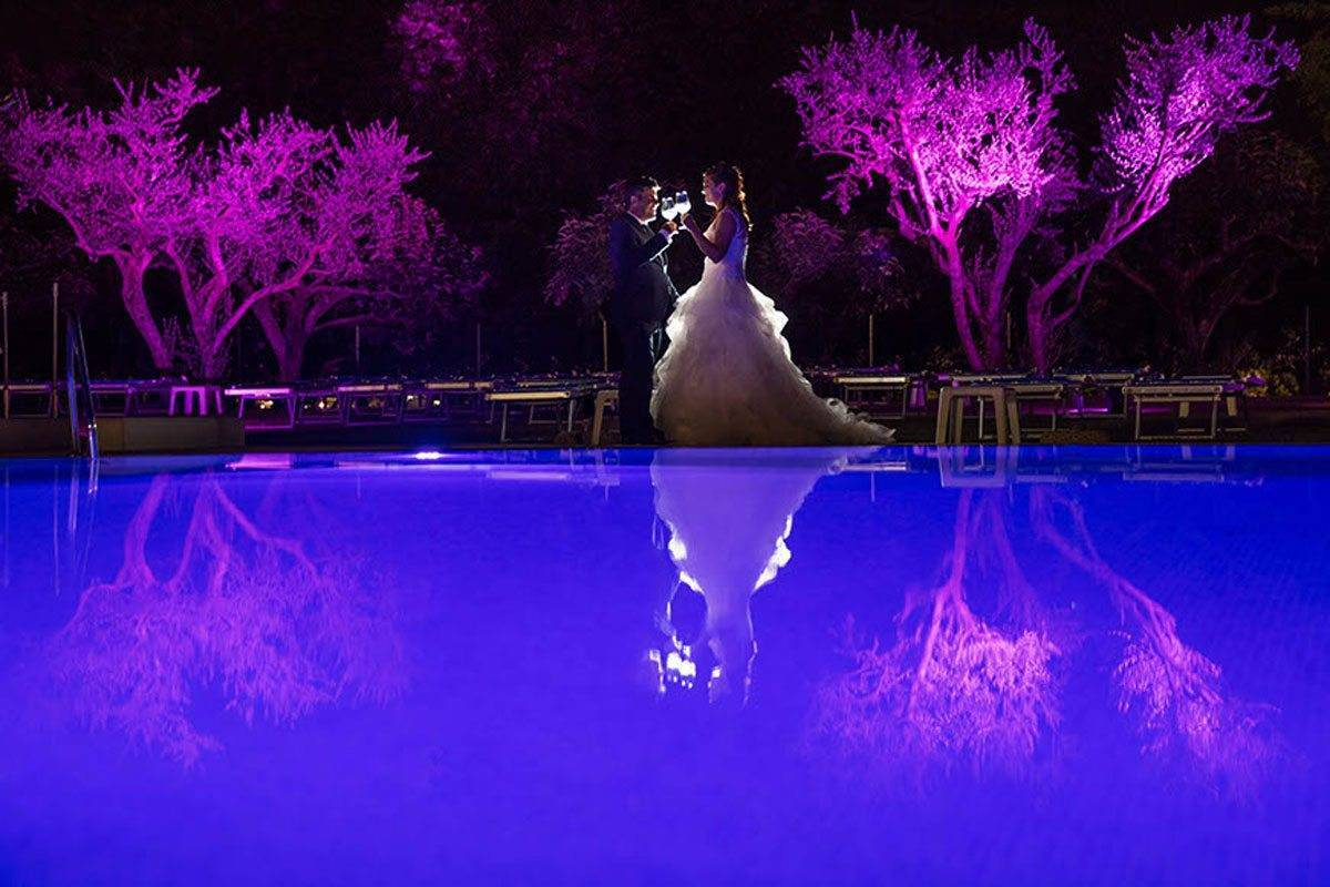 Festa Piscina brindisi sposi - Luxury Wedding Gallery