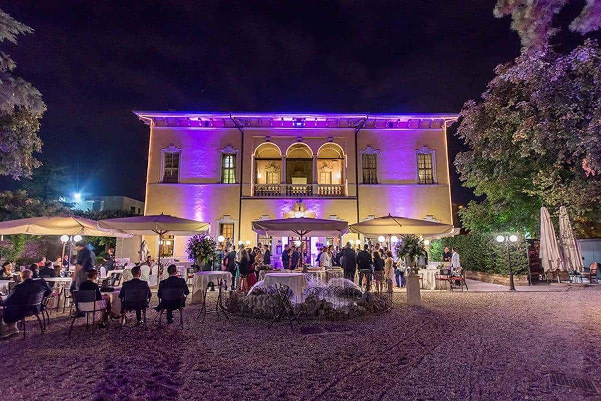 Festa fronte Villa - Luxury Wedding Gallery