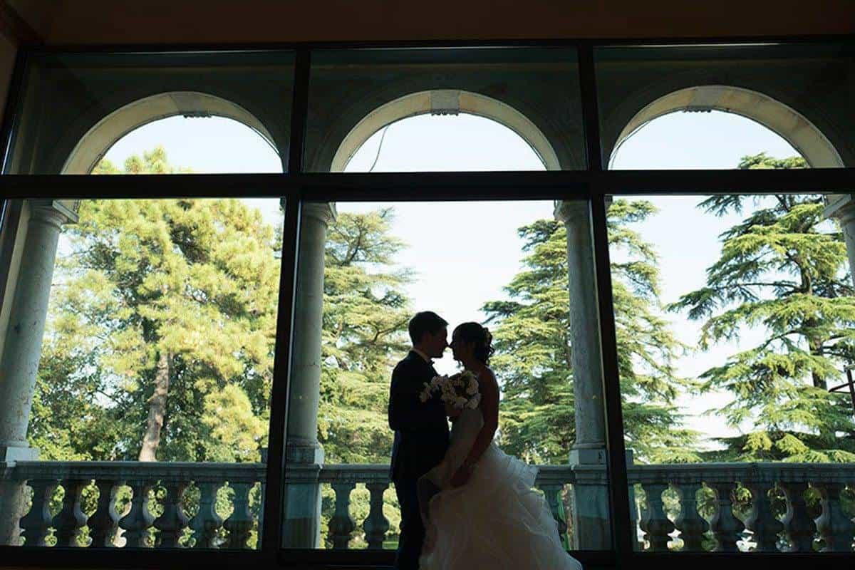 Loggia degli Angeli con Sposi - Luxury Wedding Gallery