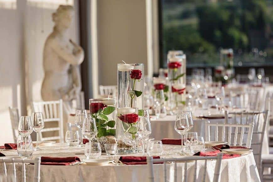 Mise en Place Porticato  - Luxury Wedding Gallery