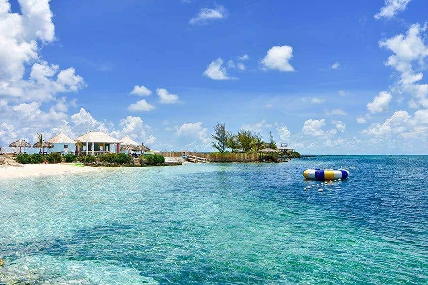 Pearl Island Bahamas beach caribbean ocean - Luxury Wedding Gallery