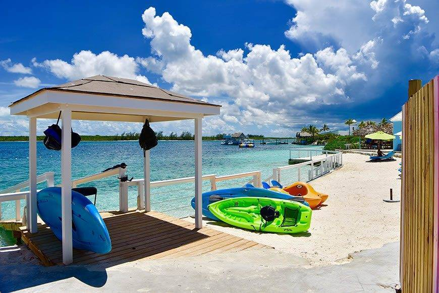 Pearl Island Bahamas beach water sports caribbean ocean  - Luxury Wedding Gallery