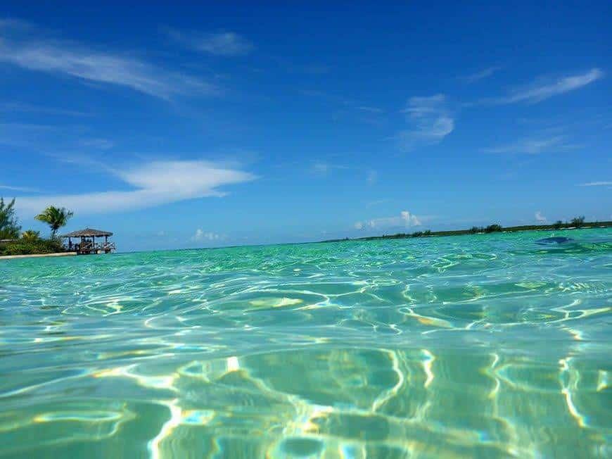 Pearl Island Bahamas caribbean ocean - Luxury Wedding Gallery