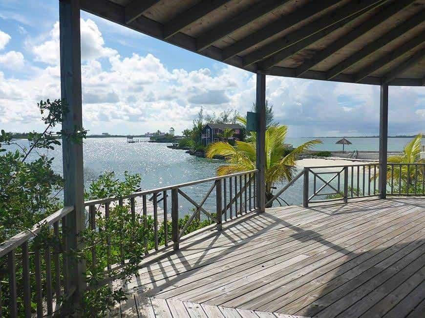 Pearl Island Bahamas gazebo - Luxury Wedding Gallery