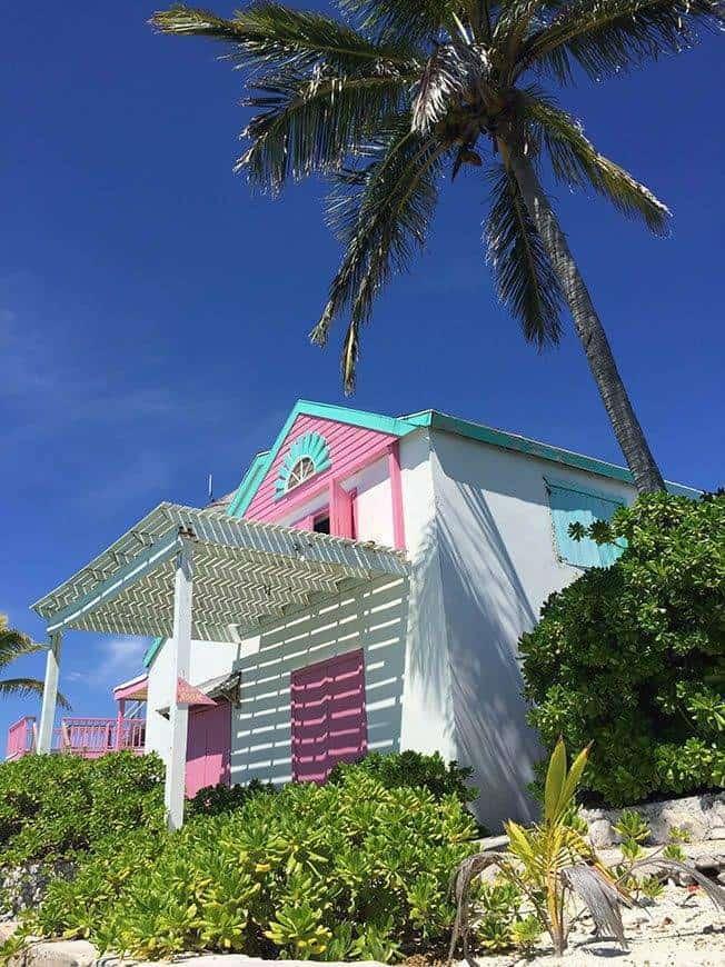 Pearl Island Bahamas island house bar - Luxury Wedding Gallery