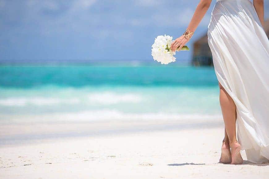 Pearl Island Bahamas wedding beach ceremony location - Luxury Wedding Gallery