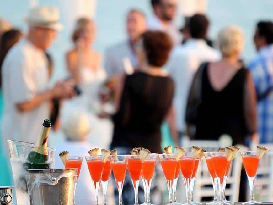 Pearl Island Bahamas wedding event reception - Luxury Wedding Gallery