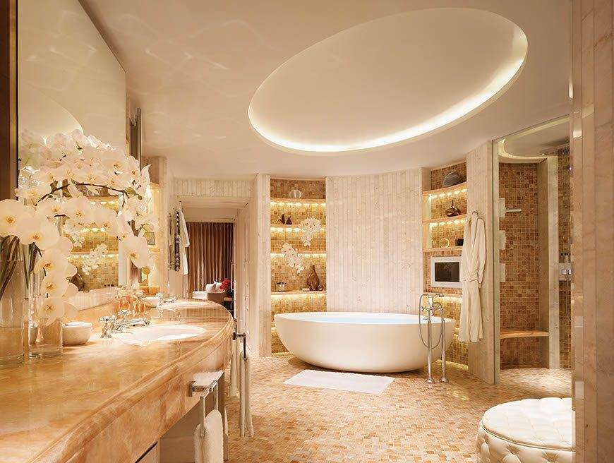 Royal Penthouse Main Bathroom Corinthia Hotel London