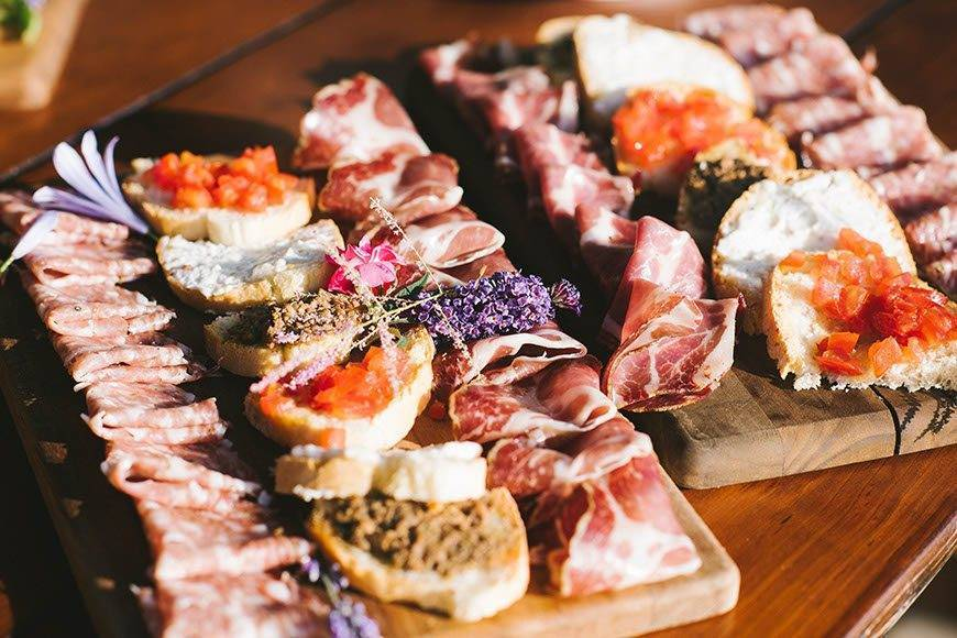 Tuscan appetizer - Luxury Wedding Gallery