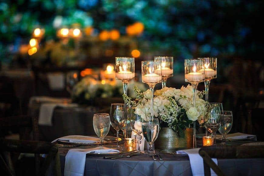 Villa Crespi table - Luxury Wedding Gallery