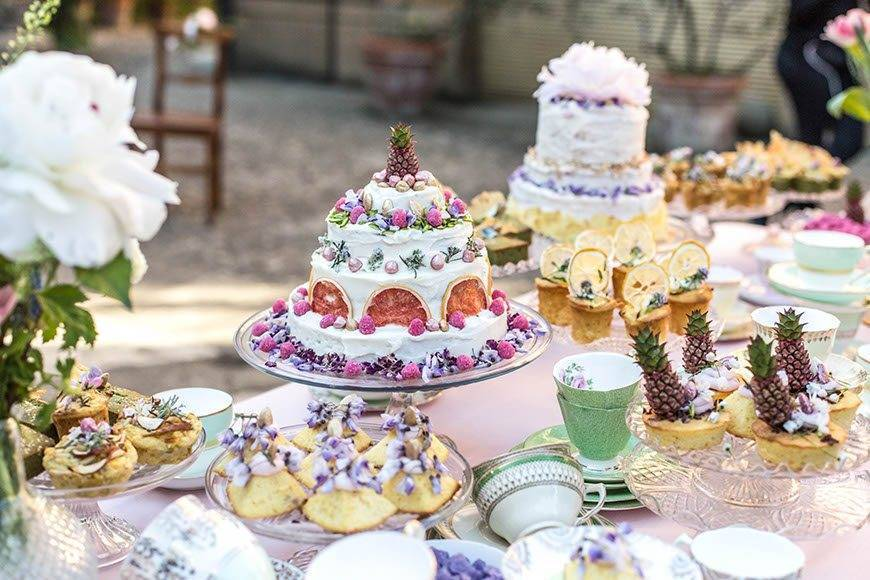 WEDIDNGCAKE CAKEDESIGN VINTAGESTYLE ROMANTIC - Luxury Wedding Gallery