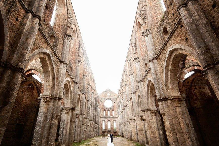 Wedding in San Galgano - Luxury Wedding Gallery