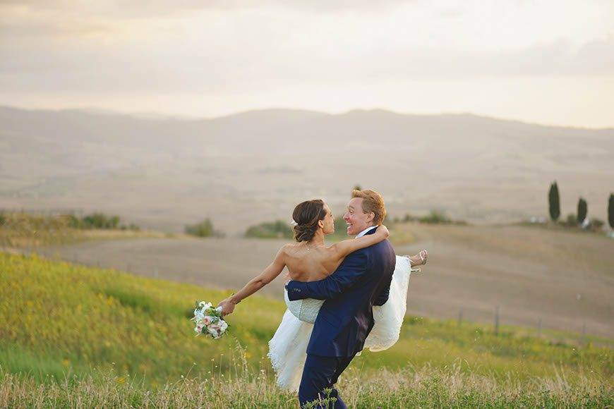 Wedding in Val dOrcia - Luxury Wedding Gallery