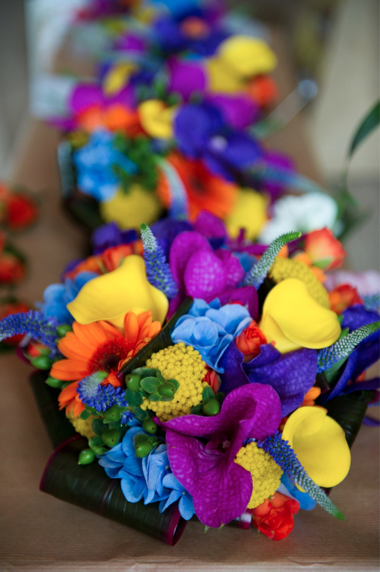 Vibrant florals are super eye-catching Photo: Goodbye Miss
