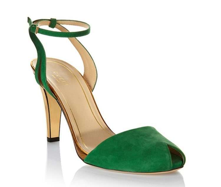 Gucci in green – for a lush pop of colour