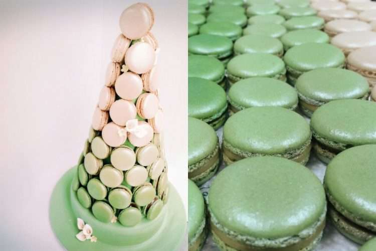 Macarons come in all colourways!