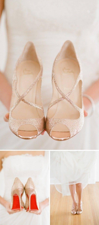 Hello little Louboutins! Cute nude heels are always an on trend winner