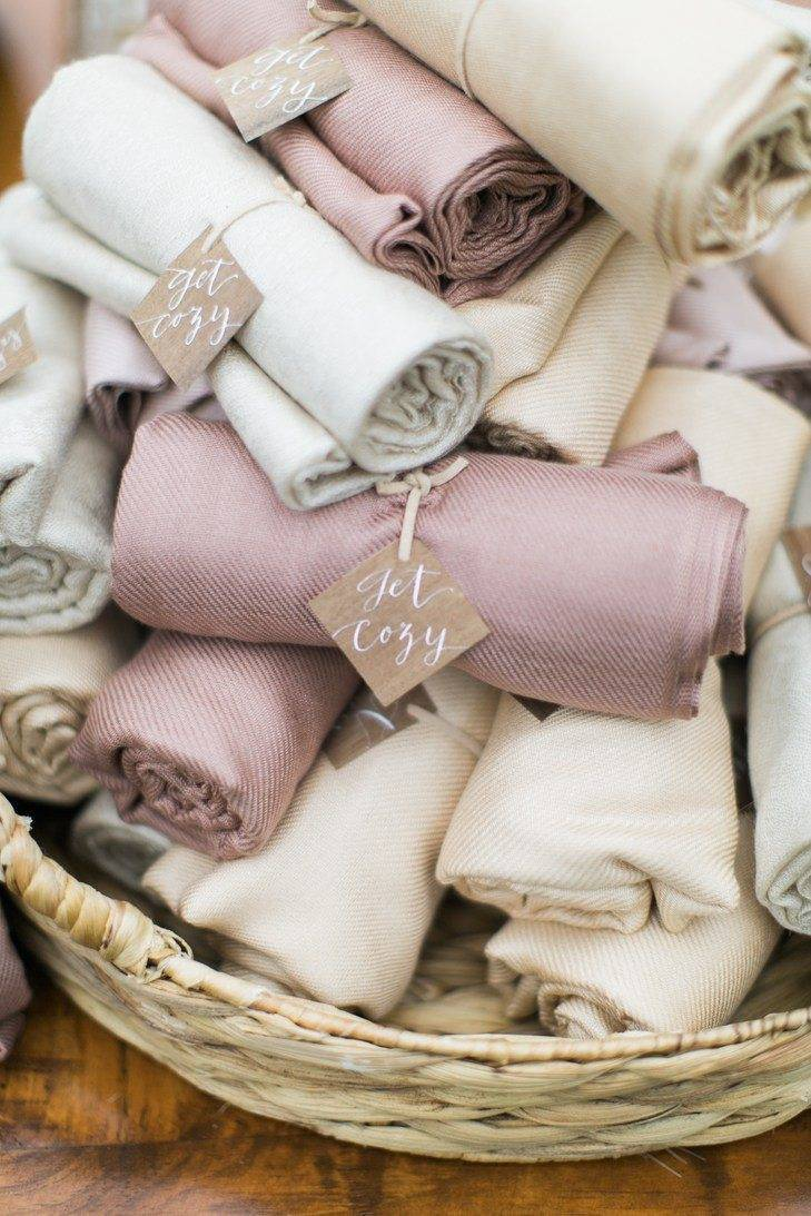 Keep them cosy – hot tips for warm weddings