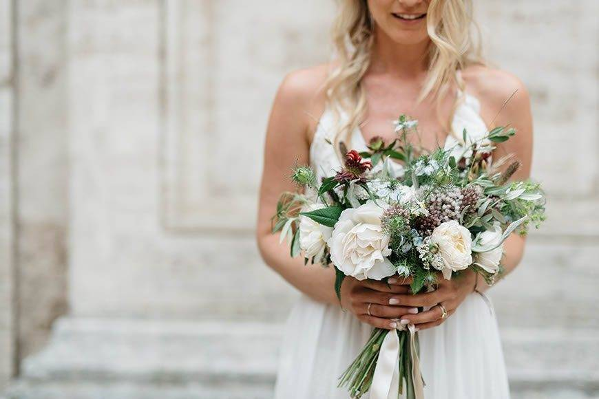 wild flowers bouquet - Luxury Wedding Gallery