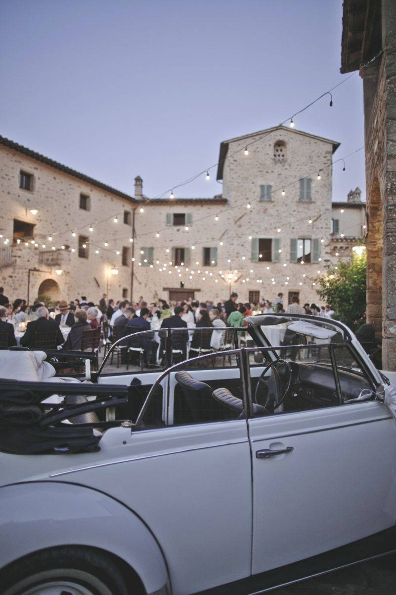 A Boho Chic Wedding in Umbria