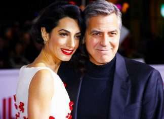 World premiere of 'Hail, Caesar!' held at the Regency Village Theatre in Westwood - Arrivals Featuring: George Clooney, Amal Clooney Where: Los Angeles, California, United States When: 01 Feb 2016 Credit: IPA/WENN.com **Only available for publication in UK, USA, Germany, Austria, Switzerland**