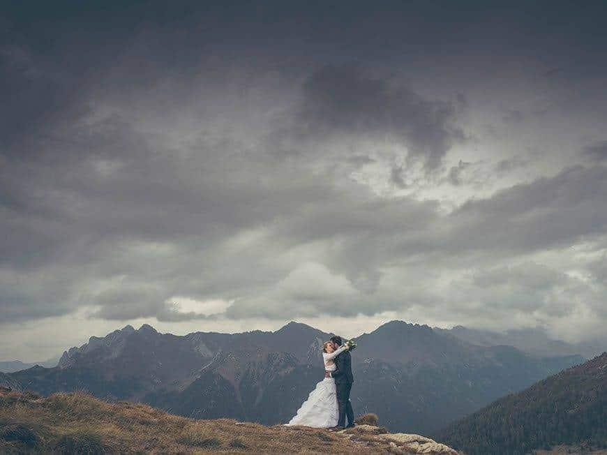 23 wedding laura andrea dolomites valdifiemme trentino italy - Luxury Wedding Gallery