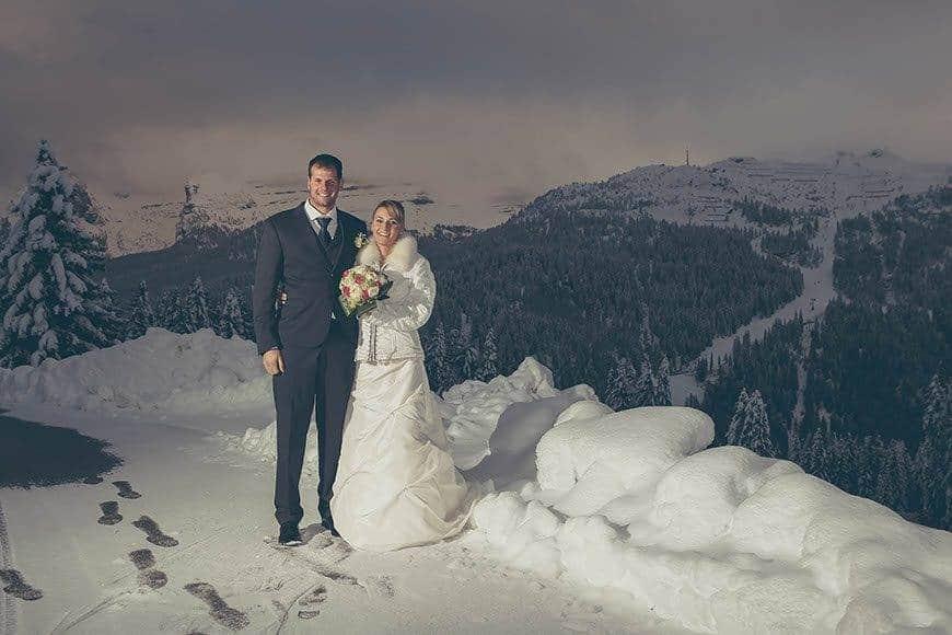 26 wedding silvia mauro winter dolomites madonnadicampiglio trentino italy - Luxury Wedding Gallery