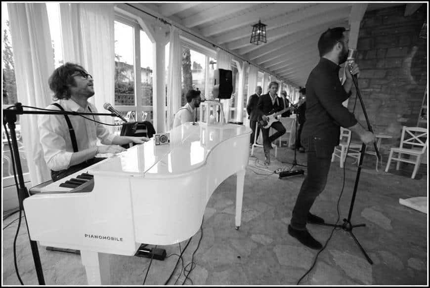 Band performance 2 - Luxury Wedding Gallery