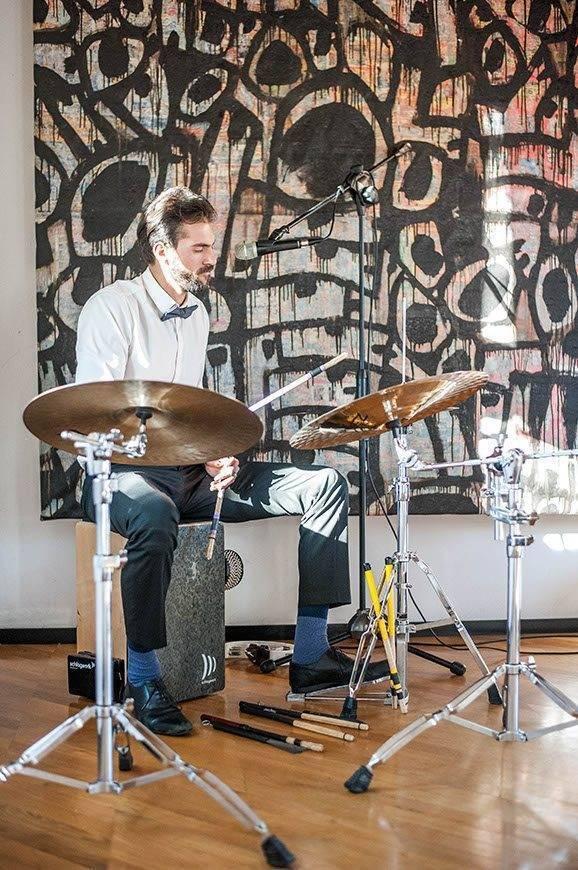 Drummer in action - Luxury Wedding Gallery