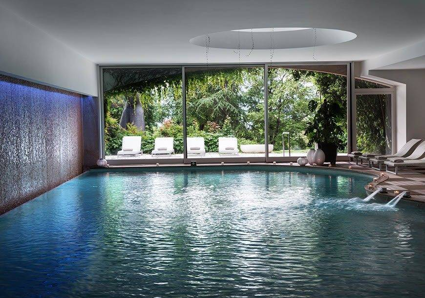Espace Chenot pool - Luxury Wedding Gallery