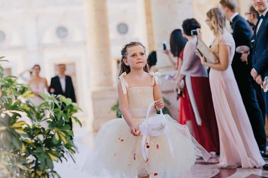Flower girl Wedding la fete - Luxury Wedding Gallery
