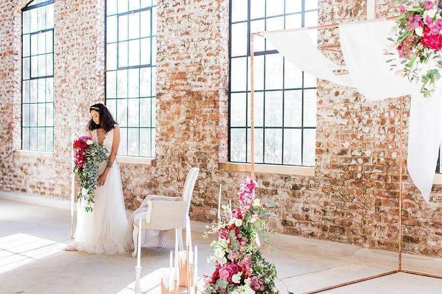 Industrial Opulence By Genevieve Fundaro 7730 - Luxury Wedding Gallery
