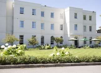 A really impressive facade, Sopwell House is beautiful outside and in.