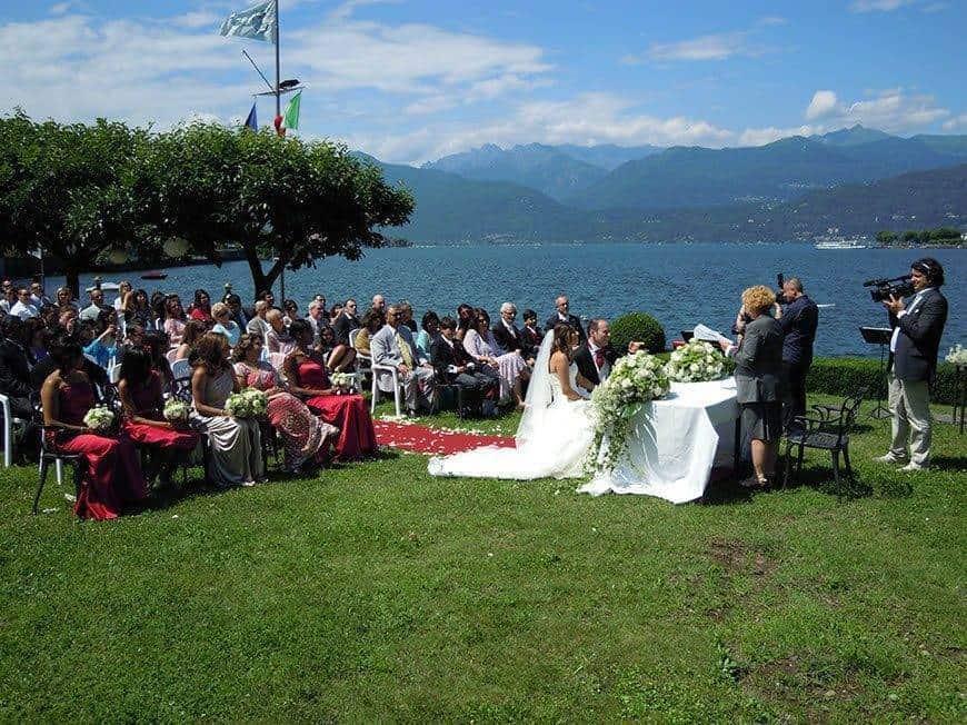 cerimony by lake maggiore - Luxury Wedding Gallery