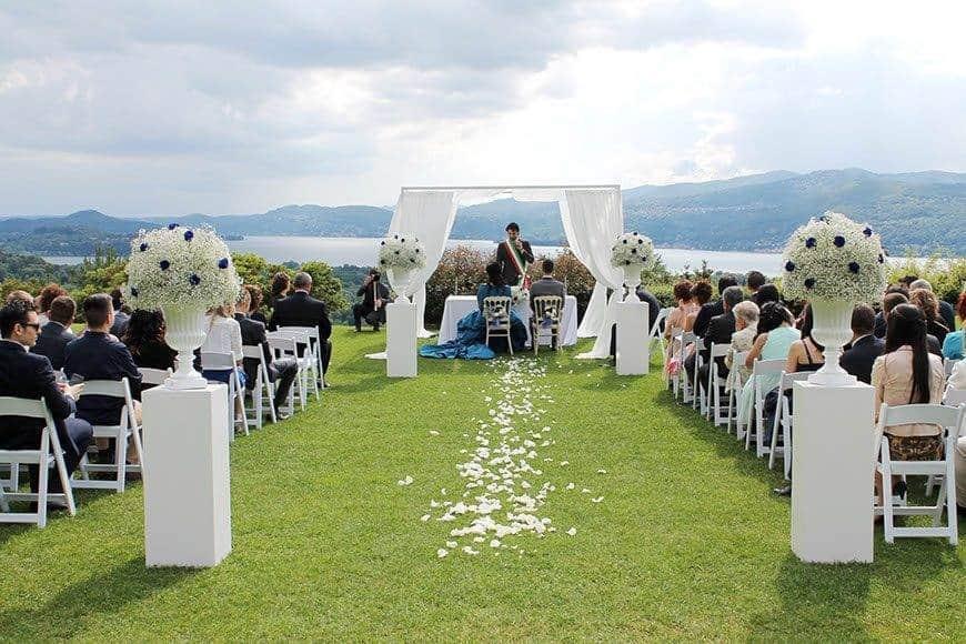 civil cerimony lake view - Luxury Wedding Gallery