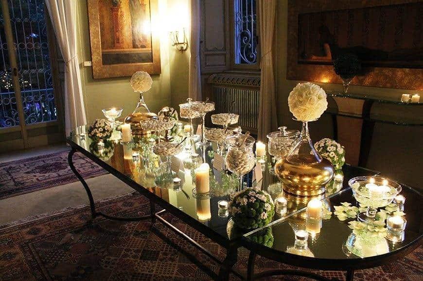 confetti table - Luxury Wedding Gallery