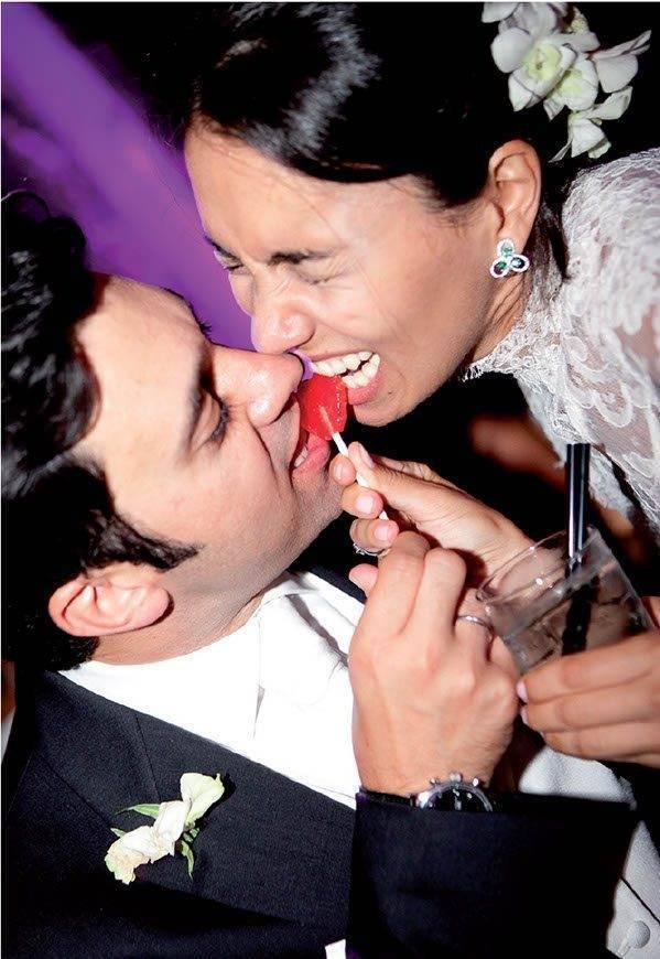 crazy bride groom wedding la fete - Luxury Wedding Gallery