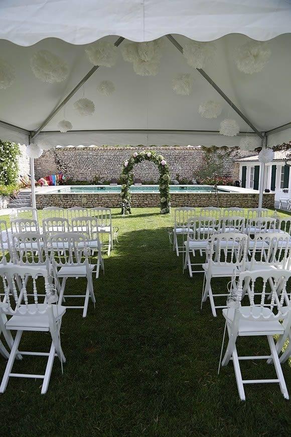 la fete wedding aisle summer - Luxury Wedding Gallery