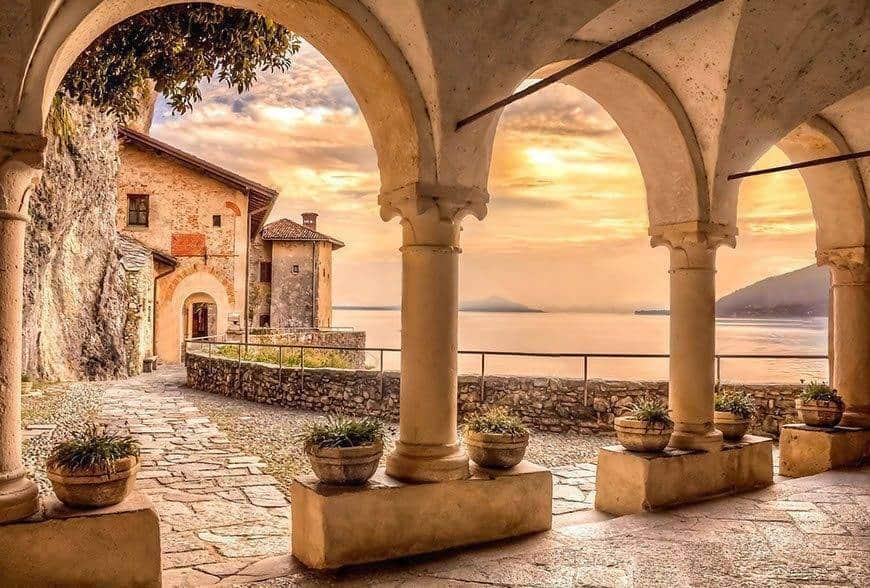 lake maggiore santa caterina church - Luxury Wedding Gallery