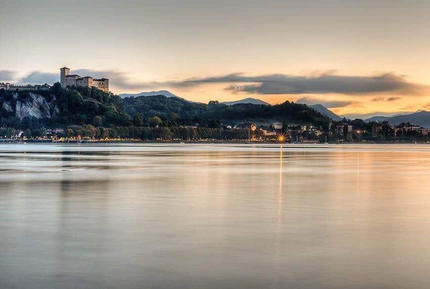 lake maggiore sunset - Luxury Wedding Gallery