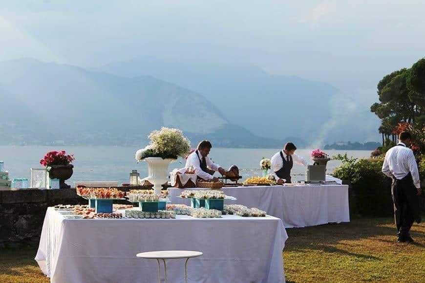 luxury villa catering on lake maggiore 2 - Luxury Wedding Gallery