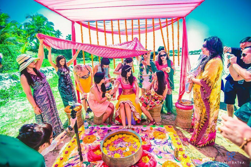 Embrace the vibrancy of an Indian wedding. Photo: Ramit Batra