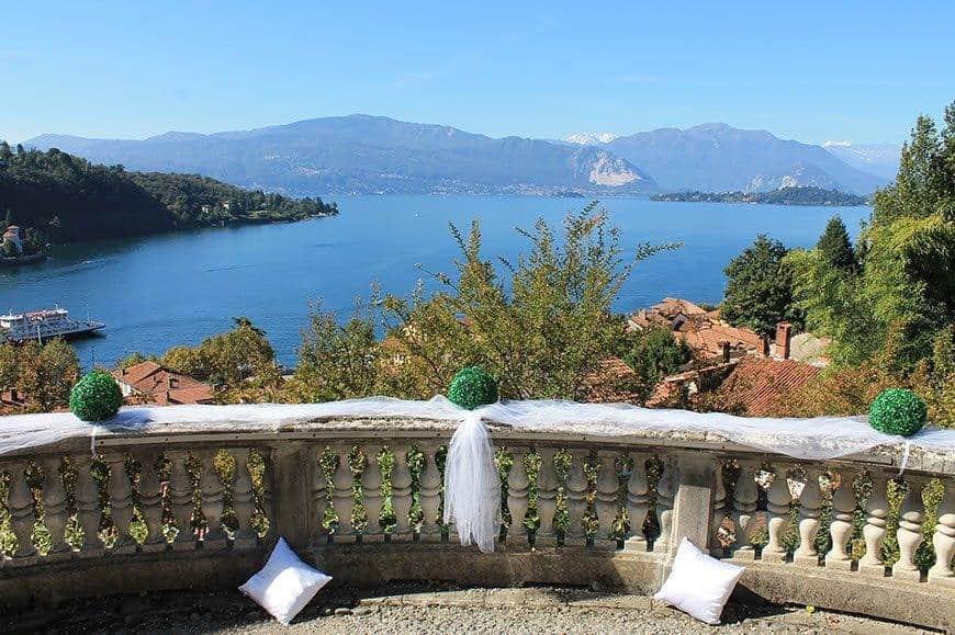 reception lake maggiore view - Luxury Wedding Gallery